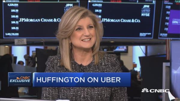 Arianna Huffington: Dara Khosrowshahi really revamped Uber's culture