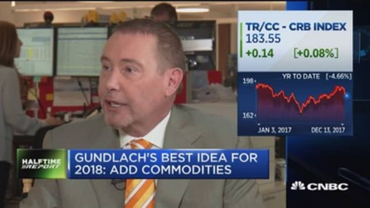 Jeffrey Gundlach: Investors should add commodities to their portfolios