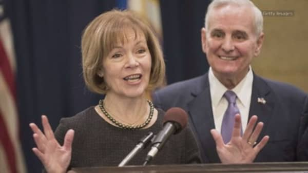 Minnesota Lt. Gov. Tina Smith will be appointed to replace resigning Sen. Al Franken