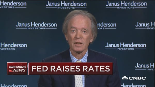 Bill Gross: Fed funds rate needs to be at 'zero-percent real'