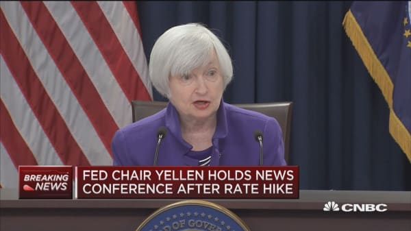 Yellen: Tax changes likely to provide modest lift to GDP