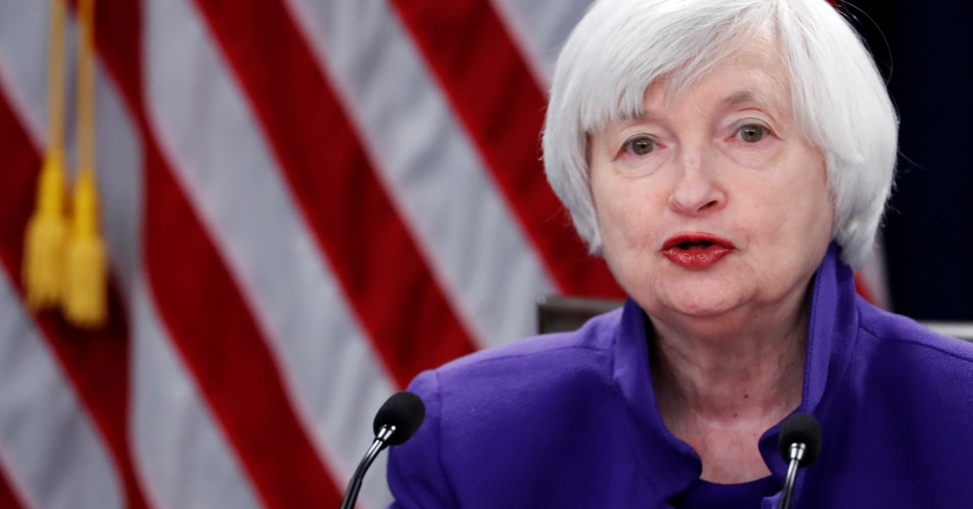 Fed chief Yellen says bitcoin is a 'highly speculative asset'