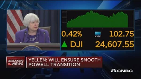 Yellen on her time at the Fed: It's been an immensely rewarding experience