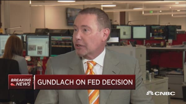 Jeffrey Gundlach: Fed is willing to let economy grow faster