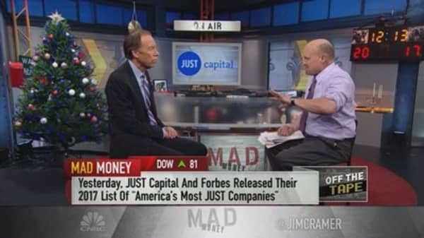 Just Capital's Dan Hesse: Companies that do good things have roughly 33 percent higher returns