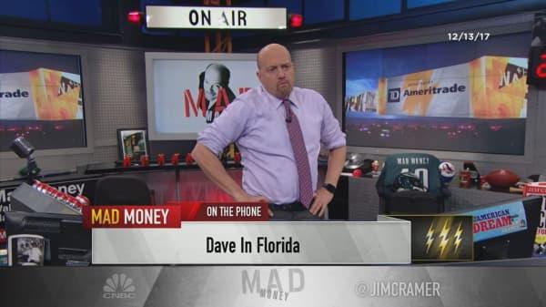 Cramer's lightning round: I'd rather you own Teva sandals than Teva Pharmaceuticals