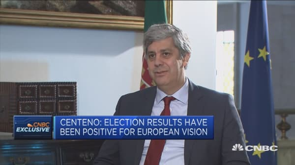 Don't expect elections to impact monetary union: Centeno