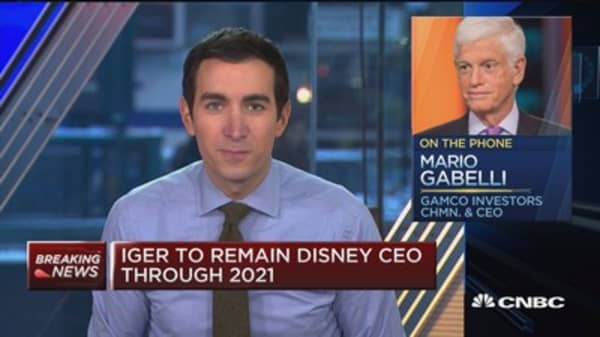 Disney-Fox deal about globalization:  Mario Gabelli