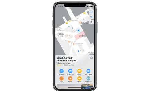 Apple Maps for Airports