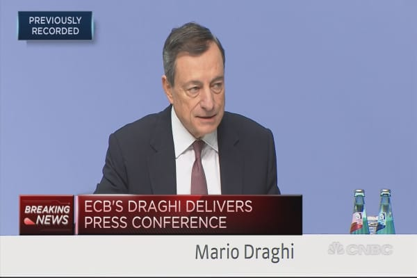 ECB raises growth forecasts
