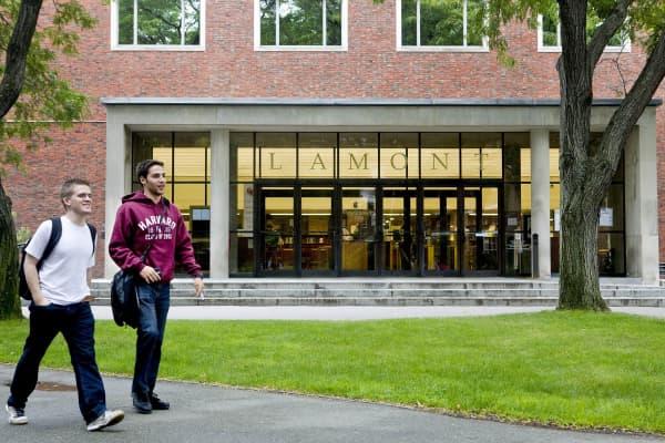 Harvard University students