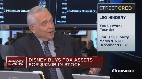 Leo Hindery: Here's what is concerning in Disney-Fox deal