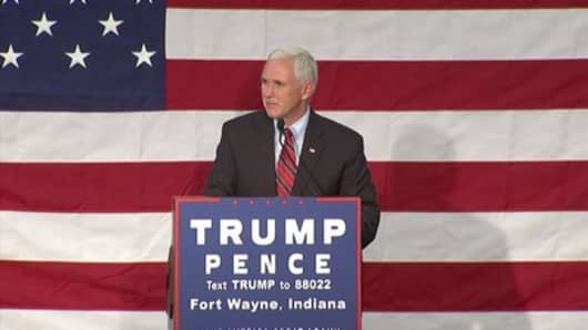 US Vice President Mike Pence delays Middle East trip