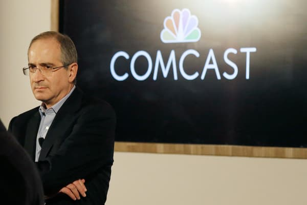Comcast Corporation chairman & CEO Brian Roberts.
