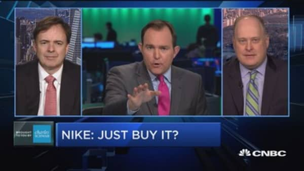 Trading Nation: Nike—just buy it?