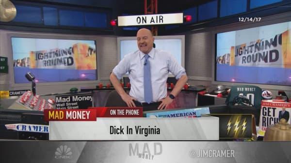 Cramer's lightning round: Buy Regeneron, it's not getting the credit it deserves