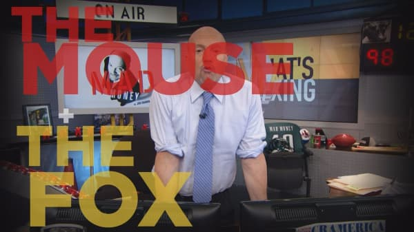 Cramer Remix: How to play Walt Disney Co. and 21st Century Fox