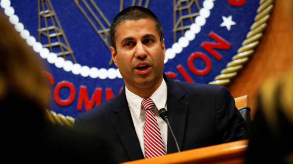 Chairman Ajit Pai, Chanirman of the Federal Communications Commission in Washington.