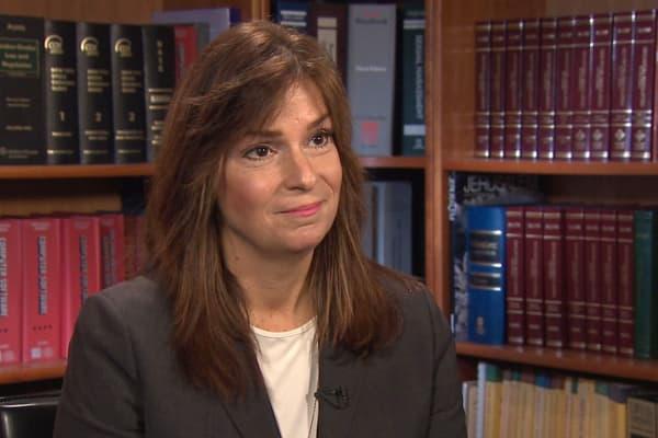 Jenice Malecki, founder of Malecki Law. She represents Teresa and Jorge Bravo.