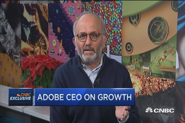 Adobe CEO: We're targeting a much larger opportunity in enterprise