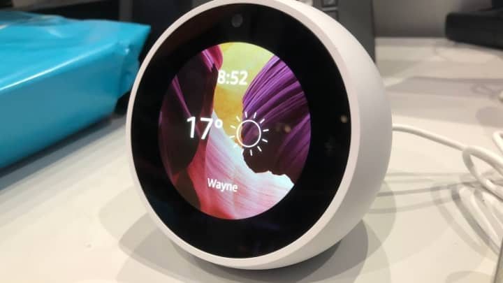 The Amazon Echo Spot