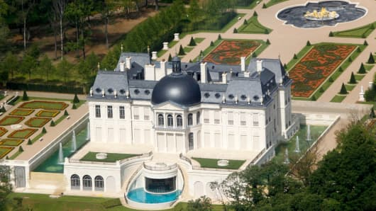Chateau Louis XIV in Louveciennes, near Paris, is owned by Crown Prince Bin Salman of Saudi Arabia.