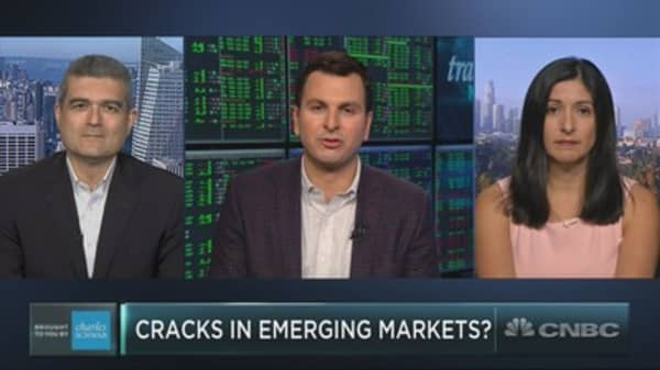 Cracks appearing in emerging markets?