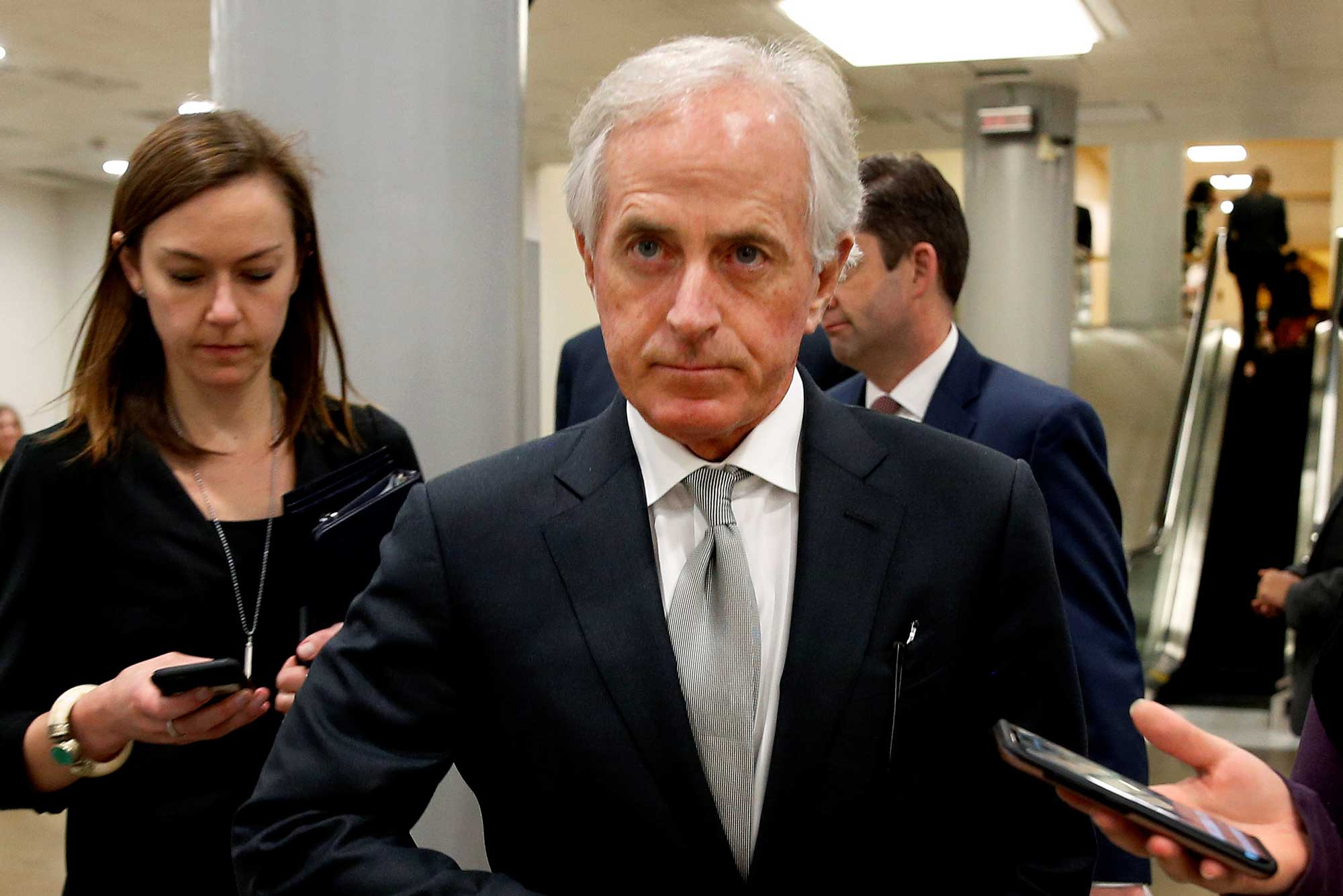 Trump and Corker could benefit Trump and Corker could benefit new photo