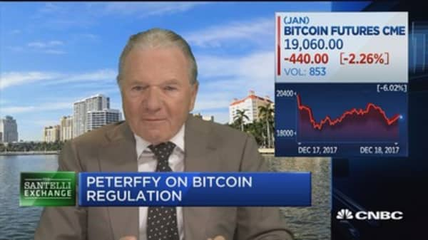 Thomas Peterffy: Futures trading should boost bitcoin's popularity
