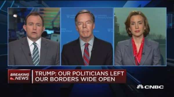 Former ambassador: Trump's actions take away from his national security rhetoric
