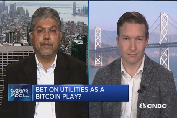 Traders debate utility sector as digital currencies drive power usage