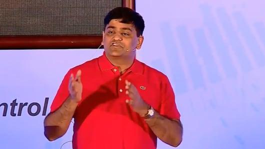Venkat Meenavalli, CEO and chairman of Longfin.