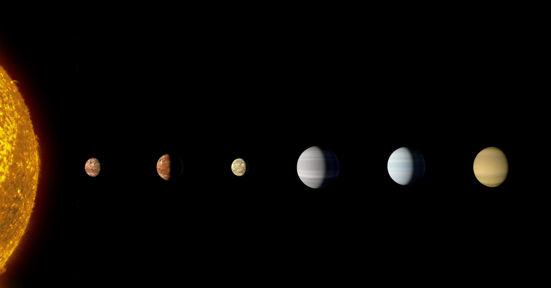 The Kepler-90 system is the only other known system to have eight planets, like our solar system including Earth.