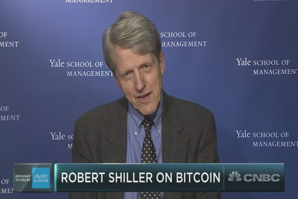 Yale's Robert Shiller on valuing bitcoin: can it be done?