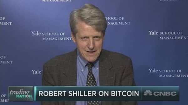 Robert Shiller on valuing bitcoin