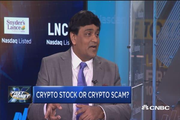 Small-cap Longfin soars 2,000% after acquiring blockchain company
