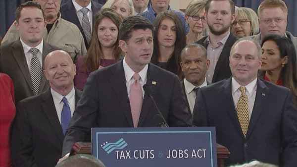 Poll: Nearly half of Americans oppose GOP tax bill