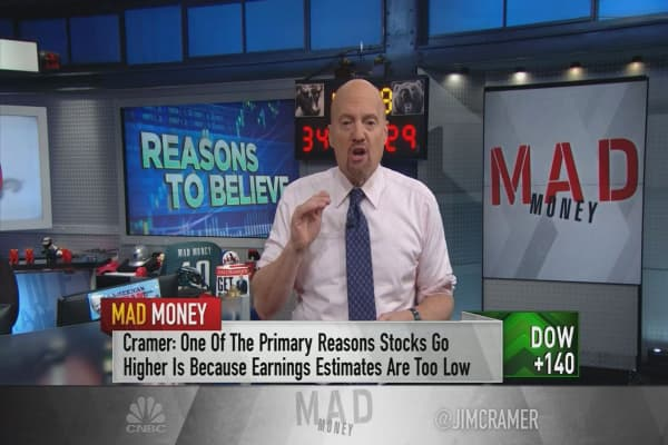 Cramer on why Campbell and Hershey's deals mean the market still has upside