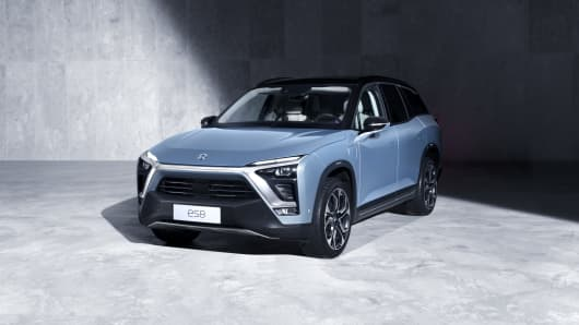 b5d86fe741312 Chinese electric car company Nio seeks to raise  1.8 billion in IPO