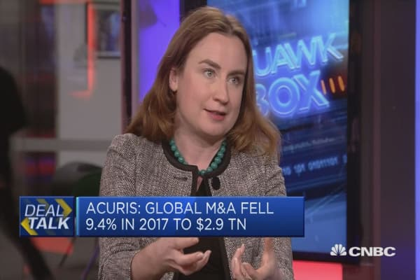 Firms are doing more M&A due to 'fear factor,' expert says