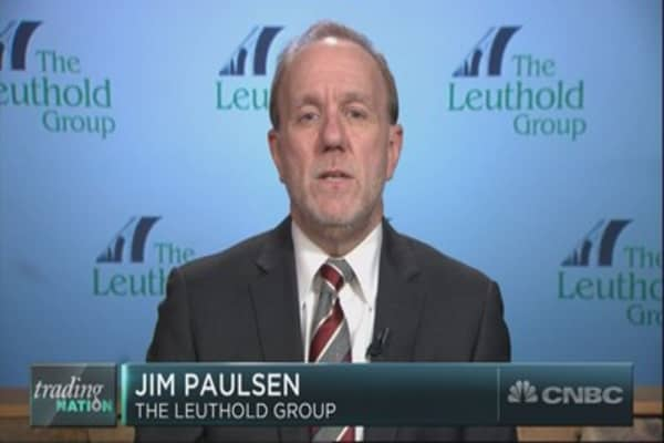 Strategist Jim Paulsen on the biggest risk to the market in 2018