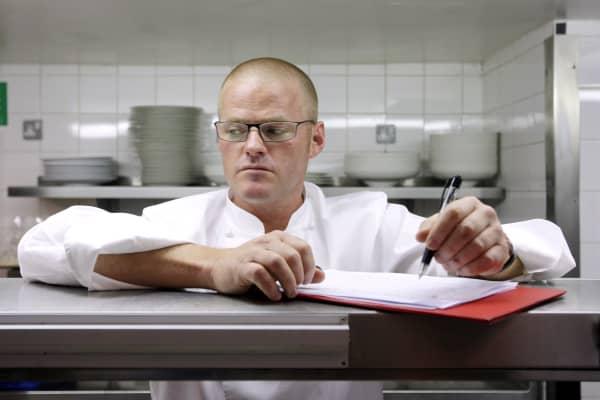 Celebrity chef Heston Blumenthal