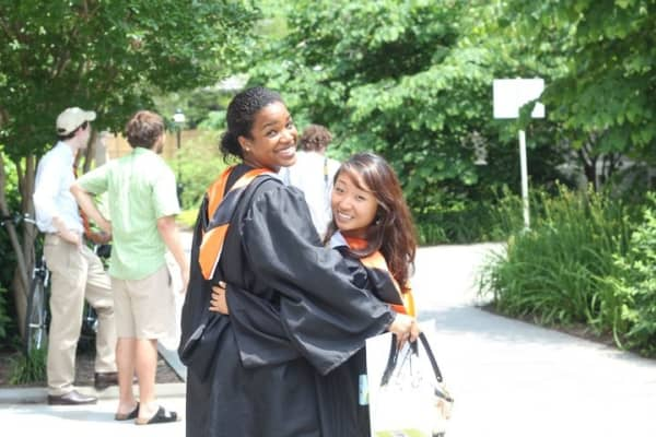 Grace Kim at her Princeton Graduation