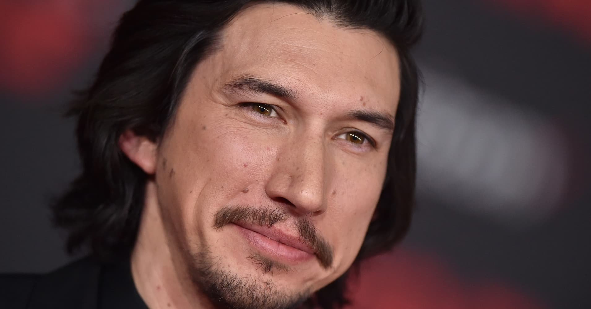 Actor Adam Driver attends the Los Angeles premiere of 'Star Wars: The Last Jedi' at The Shrine Auditorium on December 9, 2017 in Los Angeles, California.