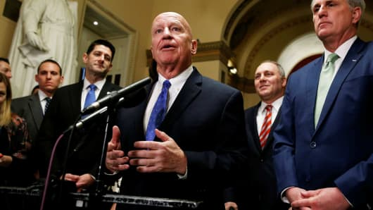 GOP on the verge of huge tax overhaul