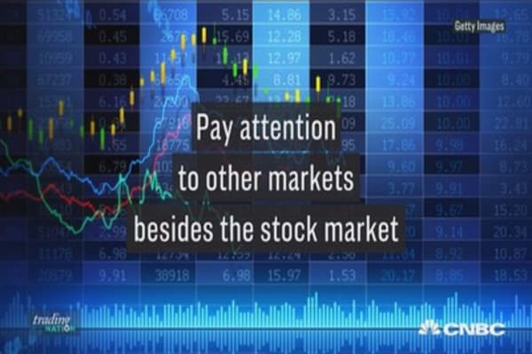 With an overbought stock market, here's why you should watch other markets