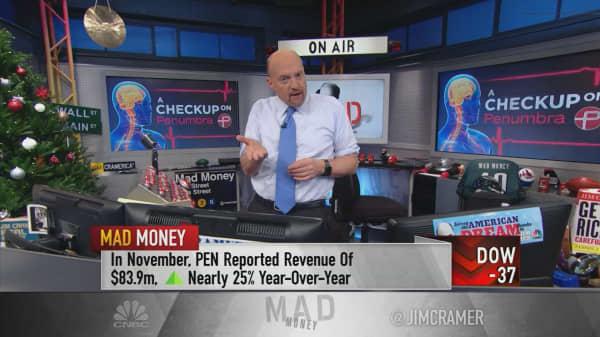 Cramer says 'broken stock' Penumbra is giving investors a gift