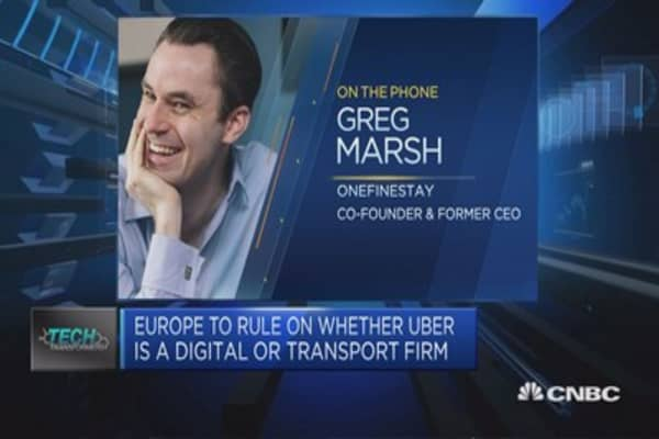 EU ruling on Uber unlikely to have short-term impact: Onefinestay CEO