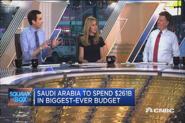 Saudi Arabia to spend $261B in biggest budget ever