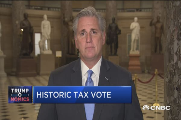 Rep. Kevin McCarthy: We love this bill so much we want to vote on it twice